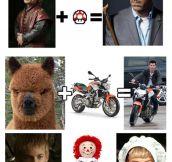 Celebrity math…