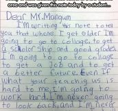 This is why teachers go to work every day…