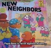 He was a good neighbor before the Pandas came…
