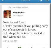 A smart idea to prank your kids…