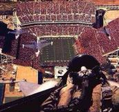 One of the best selfies ever…