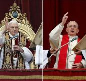 Pope: Then vs. now…