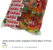 Hairbo gummy bears Amazon reviews have something in common…