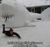 Snow shark season…