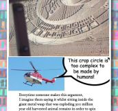 Crop Circles vs. Helicopters…