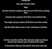 How to stop being sad…