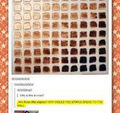 Bread gradient…
