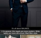 The 10 rules of suits…
