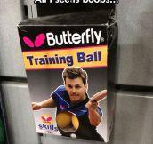 Training balls…
