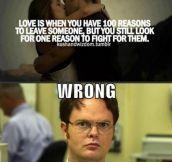 Oh Dwight…
