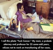 Best way to react to cancer…