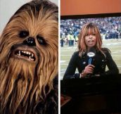 Chewbacca's long lost sister…