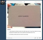 i am going to start doing this