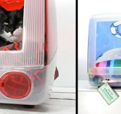 iMac Beds for Cats (17 Pics)