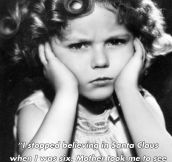 Funny and inspirational quotes by Shirley Temple (8 Pics)