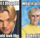 90′S HAIR CUTS