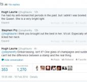 A Bit of Fry and Laurie on Twitter!