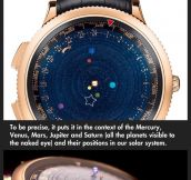 A planetarium for your wrist