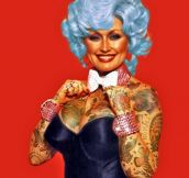 If celebrities were covered in tattoos…(15 pics)