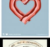 Cool cards for your Valentine