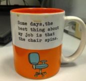 I need this mug for my desk.