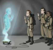 I was not emotionally prepared to see this……RIP Egon