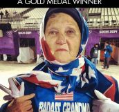 Nothing can match a grandmother's pride