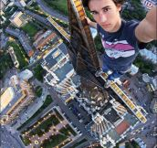 Now that's a selfie