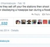 Only Frankie Boyle could sum up England so accurately