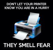 Printers know