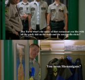 Super Troopers was a great movie