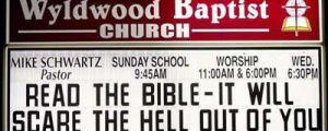 25 Super Funny Church Signs
