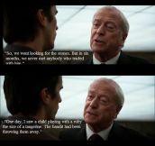 Alfred in The Dark Night…