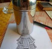 Empire State Building art…