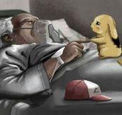 Pikachu's last goodbye…