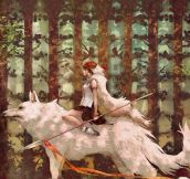 Princess Mononoke…
