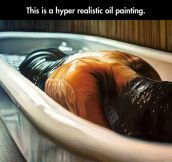Art never ceases to amaze me…