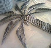 Cool cutlery art…