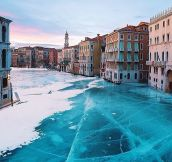 Frozen Venice…