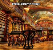 The amazing Strahov library…