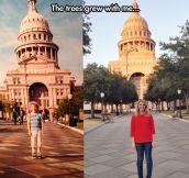 Texas Capitol before and after…