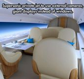 Amazing private jet design…