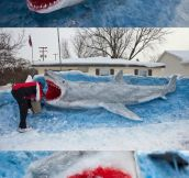 Jaws VIII, The Snowy Revenge…
