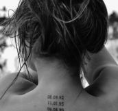 A tattoo you must have if you are a mom…