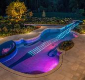 Majestic violin pool…