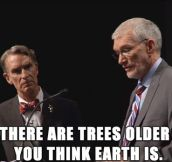 One of my favorite lines tonight from the Bill Nye and Ken Ham debate…