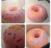 Simpsons donut cake…