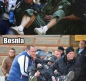 Welcome to Bosnia…