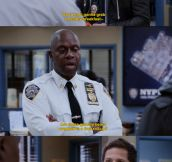 Andy Samberg on Brooklyn Nine Nine…