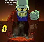 That damned Bender…